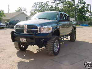 New Ranch Style Front Bumper 06 07 08 09 2006 2007 2008 2009 Dodge Ram 2500 3500
