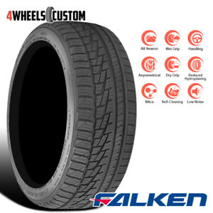 1 X New Falken Ziex Ze 950 A s 195 50 15 82h High Performance All season Tire