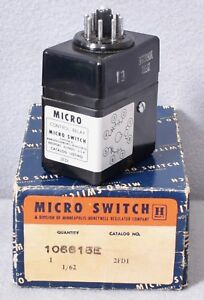 Honeywell Micro Switch Control Relay 2fd1 106615e