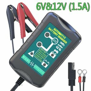 Automatic Battery Charger Maintainer Portable Smart Float Power Lightweight New