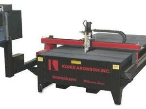 Hypertherm 200 Amp 5 X 10 Cnc Plasma Cutting System Burn Table 1 Inch 24 900