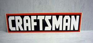 11 Craftsman Decal Sticker Car Truck Window Bumper Tools Usa Tool Box Chest