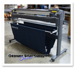 Used Graphtec Fc8000 130 54 Vinyl Plotter Cutter Stand Or Best Offer