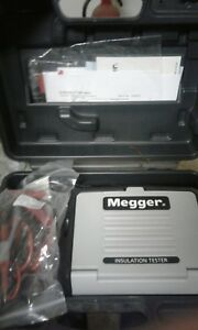 Megger Mit320 en 250 500 1000v Insulation Continuity Tester New Calibrated