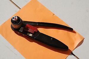 Daniels Crimping Crimp Tool Teminal Solderless Military Ms3191 4 Contact Pins