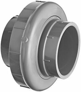 Gf Piping Systems Pvc Pipe Fitting Union Schedule 80 Gray 4 Npt Female