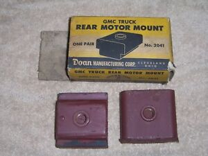 Nos Doan 2041 2074268 Gmc Rear Motor Mounts 1939 1948 2 2 1 2 3 3 1 2 Ton Bus