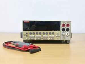 Keithley 2002 Multimeter With Lead Set