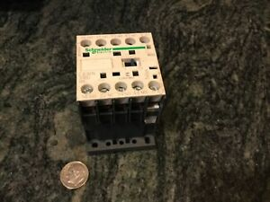Schneider Electric Automation Robot Ca3kn 31bd 24 Volt Magnetic Contactor New