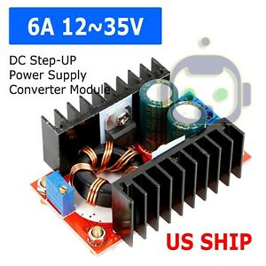 2pcs Dc dc 2a Adjustable Step Up Boost Power Supply Converter Module