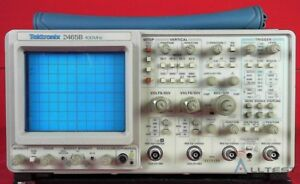 Tektronix 2465b 400 Mhz Analog Oscilloscope