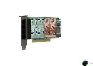 Digium 1a4a02f 4 Port Modular Analog Pci