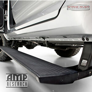 Amp Research Powerstep Retractable Side Step 09 14 Ford F150 With Plug N Play