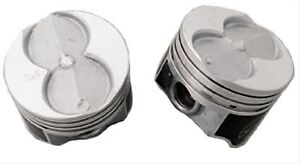 Sbf Small Block Ford 351w Speed Pro Flat Top Pistons 4 040 Bore 4 Valve Relief