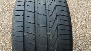 Pirelli P Zero 295 30 20 Excellent Condition Like New With Professional Patch