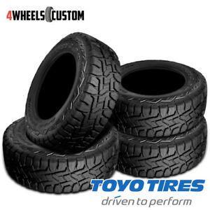 4 X New Toyo Open Country R T 37 12 5 20 126q All Terrain Truck Suv Tire