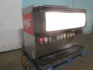 cornelius Ed300 bc H d Commercial Lighted 12 Flavors Soda W 2 Ice Dispensers