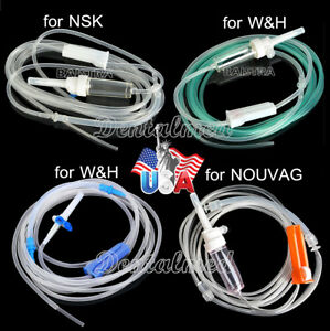 Usps Dental Implant Irrigation Disposable Hose Tube For W h Nsk Nouvag Surgery