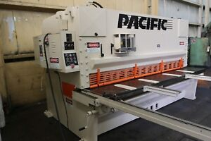 Used Nice Pacific 10 Ft X 1 2 500 Inch Hydraulic Shear