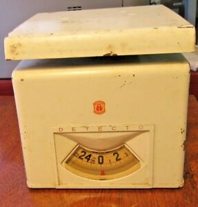 Vintage Kitchen Scale Detecto 25lbs Made In Usa