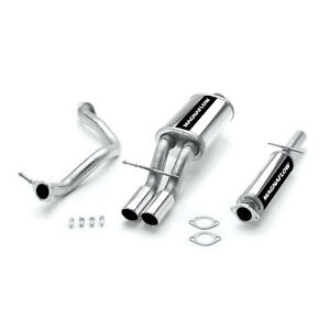 Magnaflow 15648 Stainless Cat Back Performance Exhaust System Volkswagen