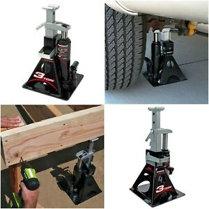 Heavy Lifting 3 Ton All In One Bottle Jack Stand Garage Shop Construction Work