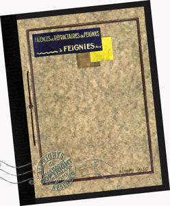 Faiences De Feignies 1930 Catalog French Ceramic Tile Designs Walls Floors Deco