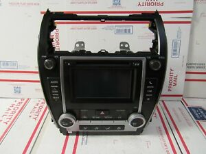 2012 2013 2014 Toyota Camry Radio With Heater Ac Climate Controls