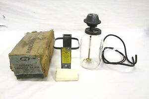 Nos 1940 S 1950 S Ford Car Truck Trico Windshield Washer Jar Assembly 8c 18293 A