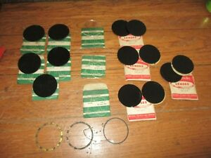 Lot Of 18 Vtg National Welding Round Goggle Glass Lenses Lens Shade 4 5 50mm