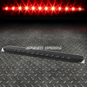 For 99 04 Ford Mustang Smoked Lens Rear Led Third 3rd Tail Brake Light Lamp