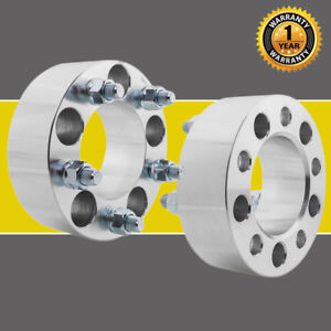 2 5x4 5 82 5mm 5 Lug Wheel Spacers Adapters For Ford 1 2 X20 Studs 2pcs
