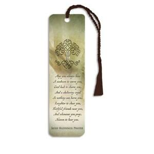 Blessings Prayer Glossy Paper Bookmark Stationery School Office Supply