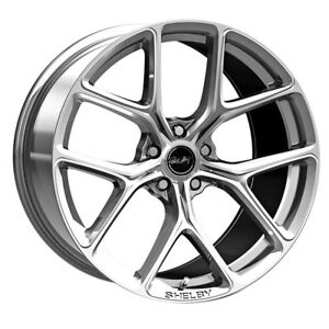 Carroll Shelby Wheel Company Cs3 295430 Cp Mustang Cs 3 Wheel 20 X9 5 Chrome Po