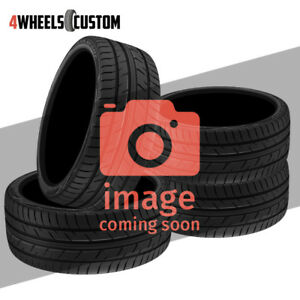 4 X New Federal Ss595 255 40 19 96w All season Tire