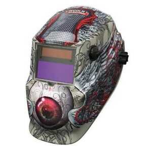 Lincoln Electric K3190 1 Welding Helmet Shade 9 To 13 Tan red