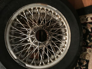 1 75x5 Vintage Mg Austin Healy Jaguar Triumph Wire Wheel Rim 50 Spoke