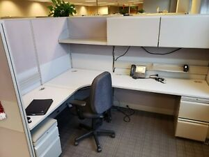 Used Office Cubicles Hon Initiate 6x8 Cubicles