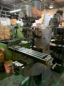 Bridgeport Vari Speed Mill W 9x42 Table H 109