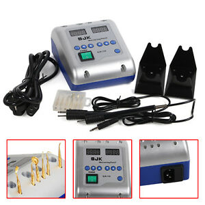 Dental Lab Electric Waxer Carving Wax Knife Pencil Double Pen W 6 Tips 110v Ba