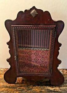 Antique Decorative Wood Glass Counter Display Case
