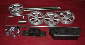 Universal Small Engine Truck Cart Kit Briggs Hit Miss Axle Wheel Gas Motor
