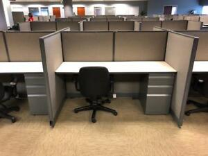 Used Office Cubicles Haworth Unigroup 6x3 Cubicles
