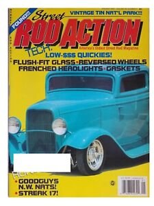 Street Rod Action January 1991 1932 1933 1938 1940 Ford S And A 1936 Plymouth