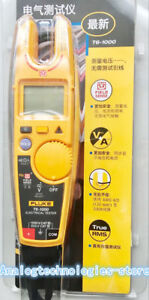 Fluke T6 1000 Clamp Meter Electrical Tester Continuity And Current Electrical