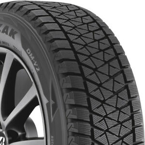 2 New 265 70 17 Bridgestone Blizzak Dm V2 Winter Tires 2657017
