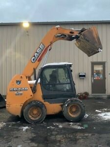 2013 Case Sr220 Skid Steer Loader Low Hours enclosed Heated Air Condition Cab