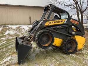 2012 New Holland L223 Turbo Skid Steer Loader High Flow Aux Override