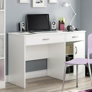 South Shore Axess Collection 43 75 In Small Desk Pure Pure White