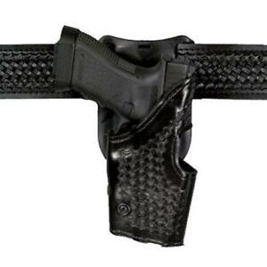 Safariland 2955 83 81 Black Basketweave Rh Duty Holster For Glock 26 27